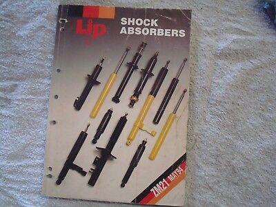 LIP shock absorbers sales book