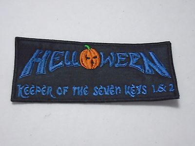 HELLOWEEN KEEPER OF THE SEVEN KEYS EMBROIDERED PATCH