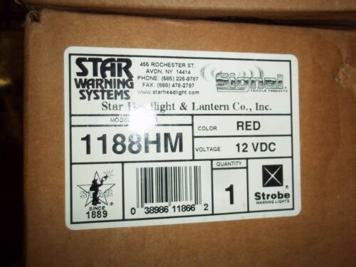 STAR   Mini STROBE  DASH  MAGNETIC  MODEL   1188HM