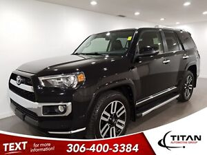 2016 Toyota 4Runner Limited|4x4|CAM|Leather|NAV|Htd Seats