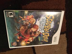 Wii game scooby doo