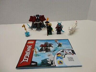 LEGO 70671 Ninjago Lloyd's Journey set 100% Complete with minifigures