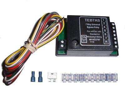 kit faisceaux d'attelage/relais de dérivation universel 7 relaysp_fra1