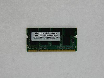1 Gb Pc 2700 Ddr Sodimm-speicher (1gb Pc2700 Ddr-333 Sodimm Speicher für Dell Latitude)