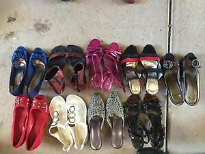 9 pairs of Women Girls Shoes, Heels, Sandals, Flats - Aldo Novo B Hughesdale Monash Area Preview