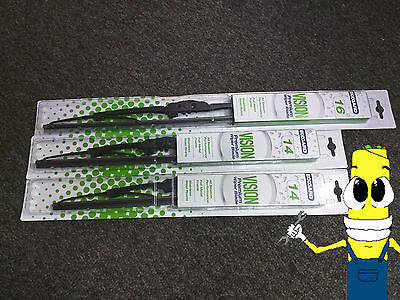 Front Windshield Wiper Blades Set for Toyota FJ Cruiser 2007 2015 All Weather
