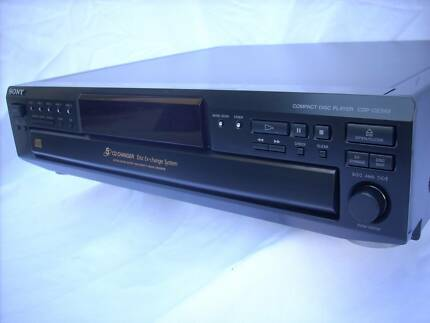 "SONY ""HIGH DENSITY LINEAR CONVERTER"" 5-DISC CHANGER Brompton Charles Sturt Area Preview"