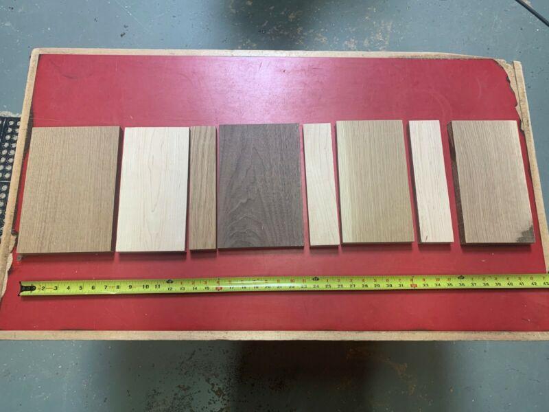 Hardwood lumber scraps Walnut Oak Maple Alder Cherry Hickory wood crafts turning