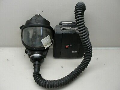 Msa Permissible Power Assisted Respirator Gas Mask