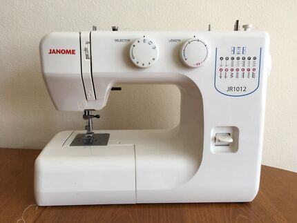 Used janome sewing machines for sale gumtree australia free janome sewing machine jr1012 fandeluxe Choice Image