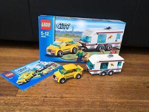 Lego Car and Caravan
