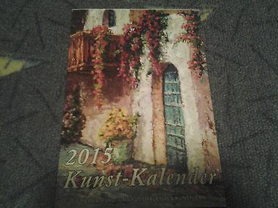 @NEU@ Kunstkalender 2015 Kalender Sammler Tischkalender Wandkalender wow     (- Kalender 2015)