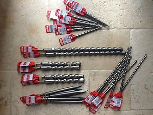 Fischer-SDS-Plus-Pro-Drill-Bits-5-24mm-Massive-Discount-Clearance-Sale