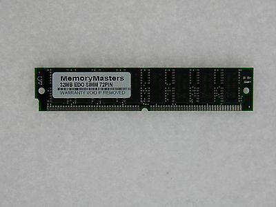 32MB  EDO MEMORY NON-PARITY 60NS SIMM 72-PIN 5V 8X32