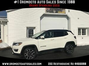 2018 Jeep Compass Limited HEATED LEATHER,NAVIGATION,SUNROOF,H...