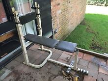 Weight bench Frenchs Forest Warringah Area Preview