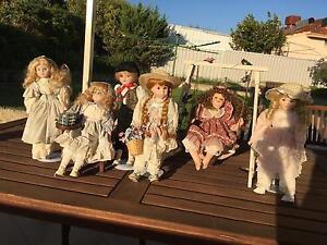 Porcelain dolls Munster Cockburn Area Preview