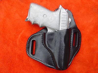 Sig Sauer P232 hi rise molded leather holster black  Kwik & Free