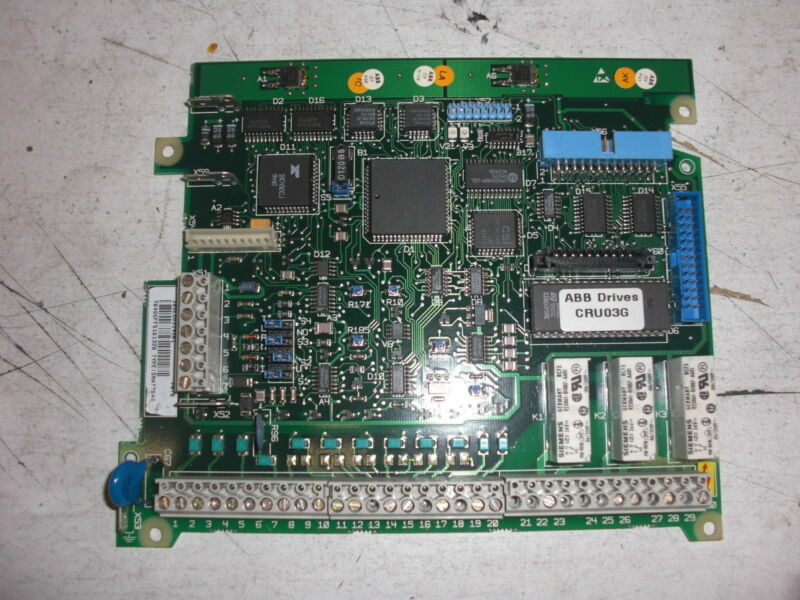 ABB SNAT7640 CONTROLLER CARD *USED*