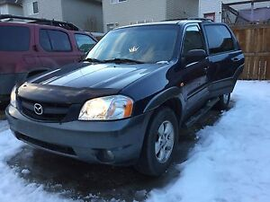 2004 Mazda Tribute car flip project