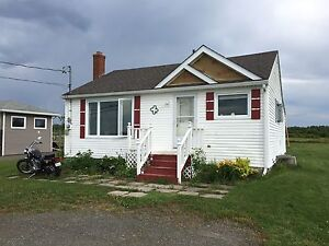 One-bedroom House for rent, waterview near Bouctouche
