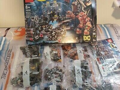 HUGE Lego Batman Batcave Clayface Invasion Set 76122 New Catwoman,Batwoman