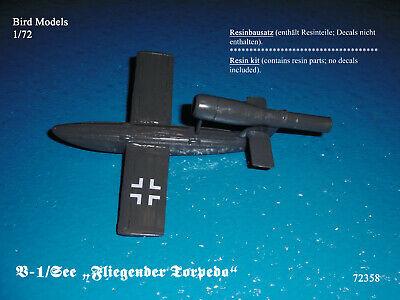 """V-1 /""""Blitzwotan/""""          1//72 Bird Models Resinbausatz resin kit"""