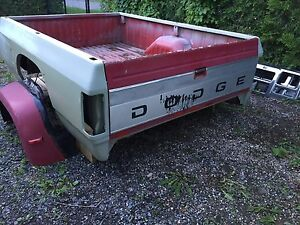1982 to 1993 Dodge dually 8 ft box
