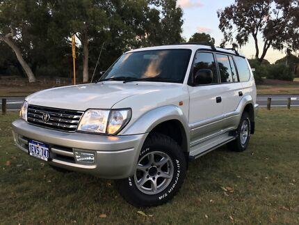 2000 Prado GXL Auto 3.4 V6 Petrol Kardinya Melville Area Preview