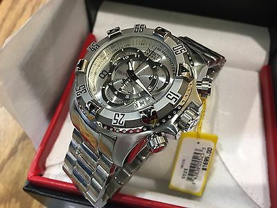 5525 Invicta Reserve Excursion Touring Edition Swiss Quartz Chron Bracelet Watch