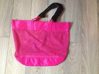 Chloe Narcisse large pink beach tote bag NEW