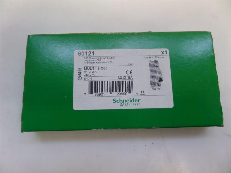 Schneider Electric 60121 C60 Multi 9 Miniature Circuit Breaker New