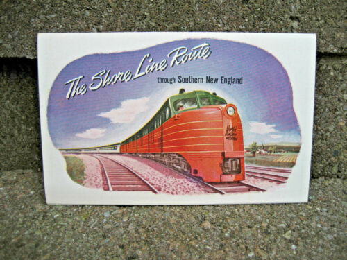 New Haven Railroad Shore Line Route Brochure