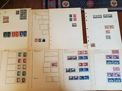 South Africa Specialized Stamp Collection on pages, from an estate!