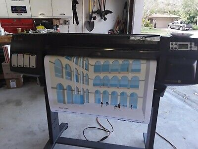 Hp Designjet 1050c Plotter Printer 36