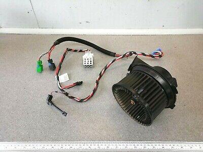 Peugeot 206 Heater Blower Fan Motor Resistor & Wiring Loom ANALOGUE Panel Type