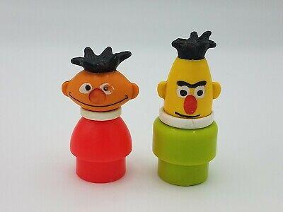 Fisher Price, Sesame Street, little people, Bert and Ernie