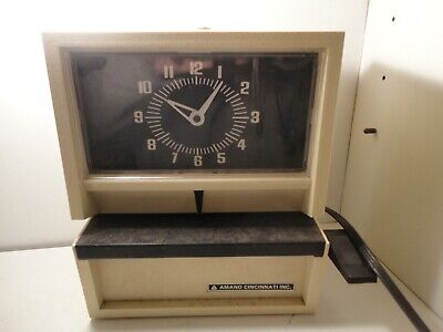Mechanical Time Recorder Amano Time Punch Clock