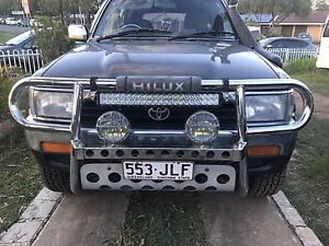 Toyota surf front bumper and bullbar Marsden Logan Area Preview