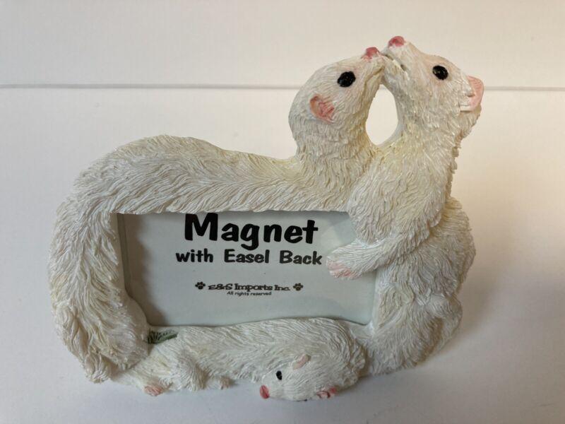 Ferret Picture frame Magnet with easel back