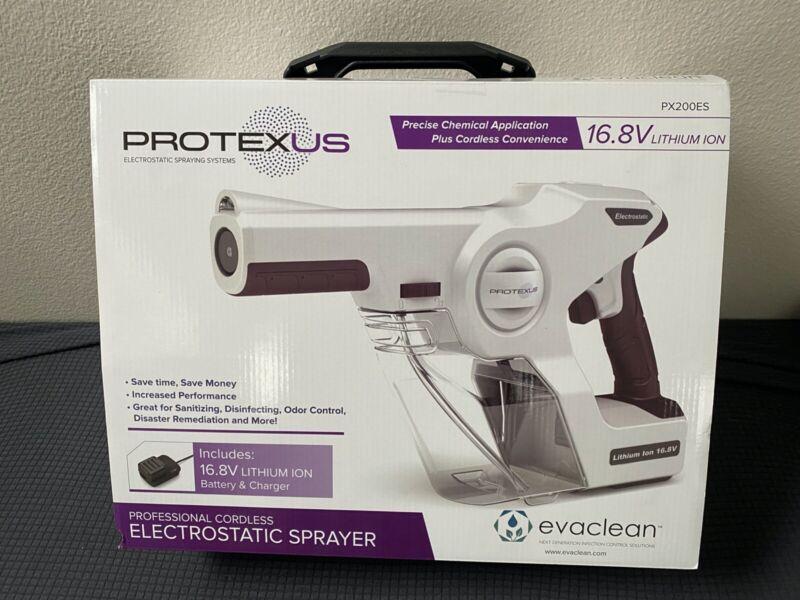 NEW Protexus Electrostatic Sprayer System PX200ES,**FAST SHIPPING**!
