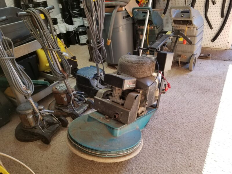 """EAGLE Hi Speed 27"""" Propane Burnisher-New Battery. See description for delivery$"""