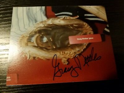Graig Nettles (ORIGINAL PHOTO) AUTOGRAPHED 4x6 photo New York Yankees HOF Glove
