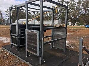 Mobile Dual Horse Vet Crush Narrikup Plantagenet Area Preview