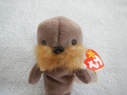 JOLLY the WALRUS  - TY BEANIE BABY -   DECEMBER 2 BIRTHDAY - PVC PELLETS