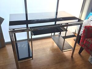 Glass study desk Eastwood Ryde Area Preview