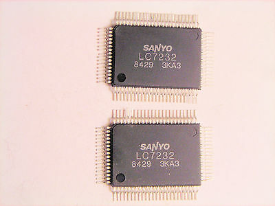 Lc7232 Original Sanyo 80p Smd Ic 2 Pcs