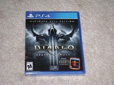 DIABLO III REAPER OF SOULS ULTIMATE EVIL EDITION...PS4...***SEALED***BRAND NEW** for sale  Shipping to Nigeria