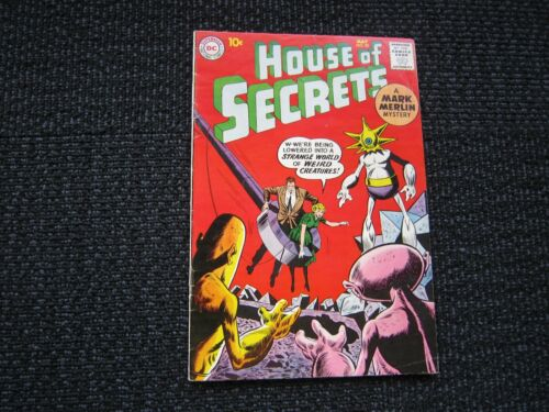 House of Secrets #32 - 1960, nice F/VF copy 10 cent issue