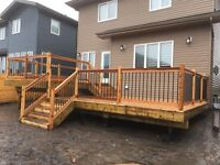 DECKS , RAILINGS, PRIVACY SCREENS AND MORE